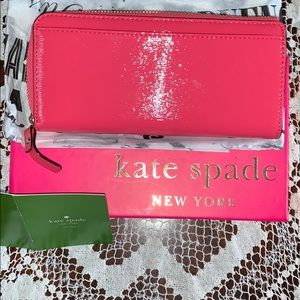 KATE SPADE💝Nisha /Beacon Court/size U/wallet